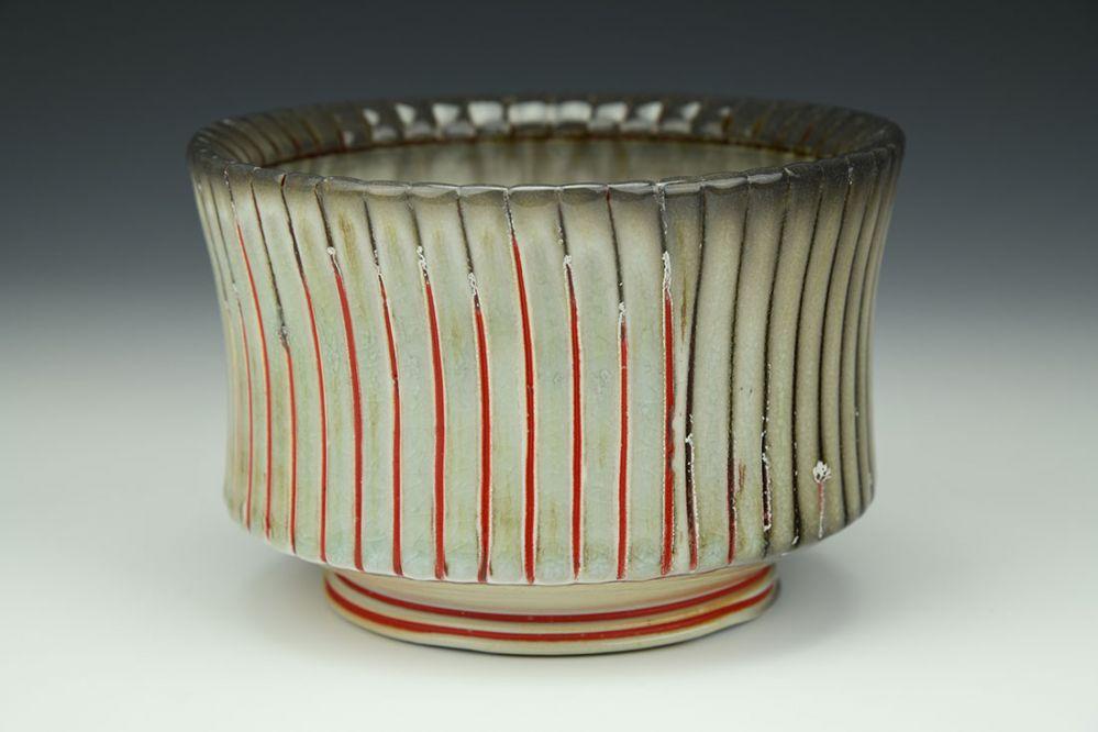 Ridged Bowl