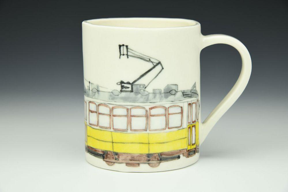 Lisbon Tram Mug