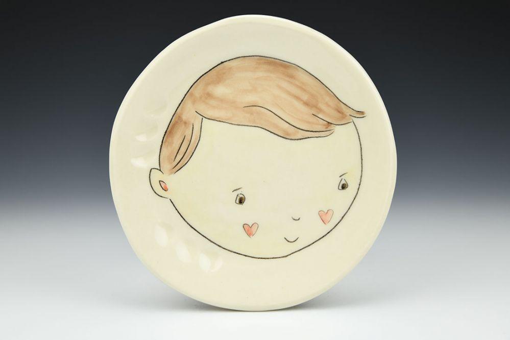 Little Boy Side Plate