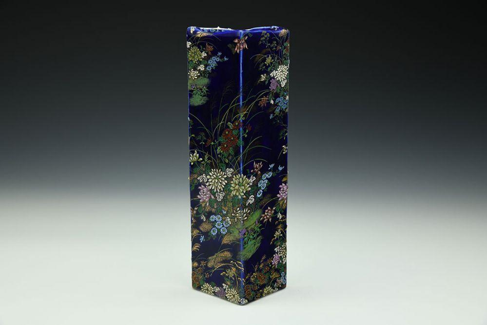Tall Triangle Vase