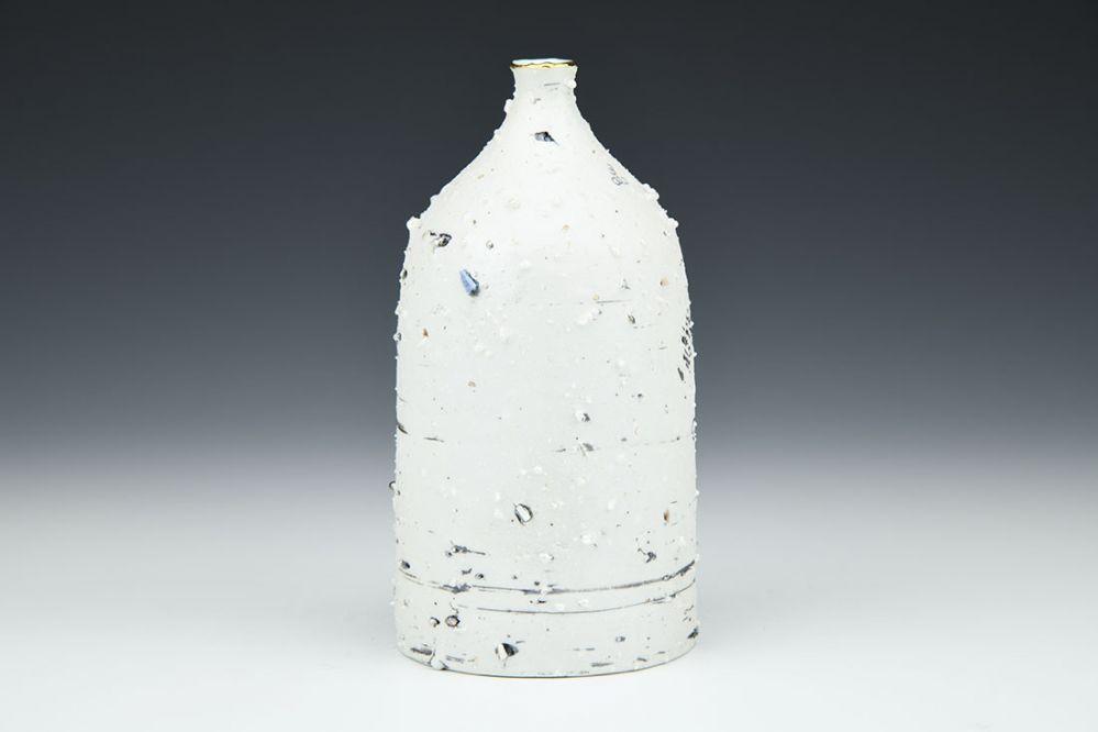 Celadon Feldspar Bottle