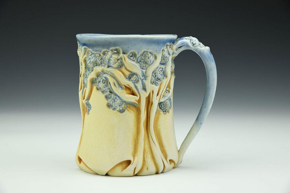 PomPom Tree Mug Soda Blue