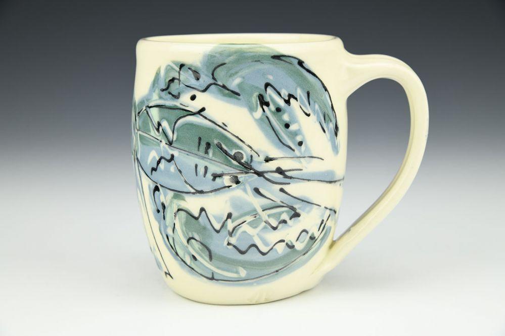 Mug with Lobster