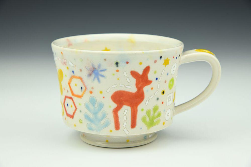 Princess Mug with Deer Motif