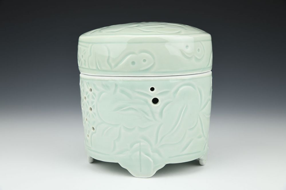 Oval Garlic Jar