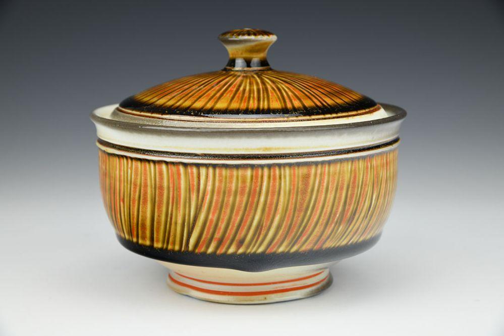 Striped Jar