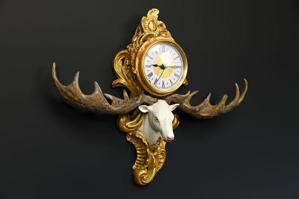 Megaloceros Wall Clock