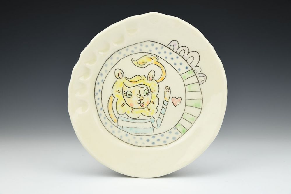 Lion Love Lunch Plate