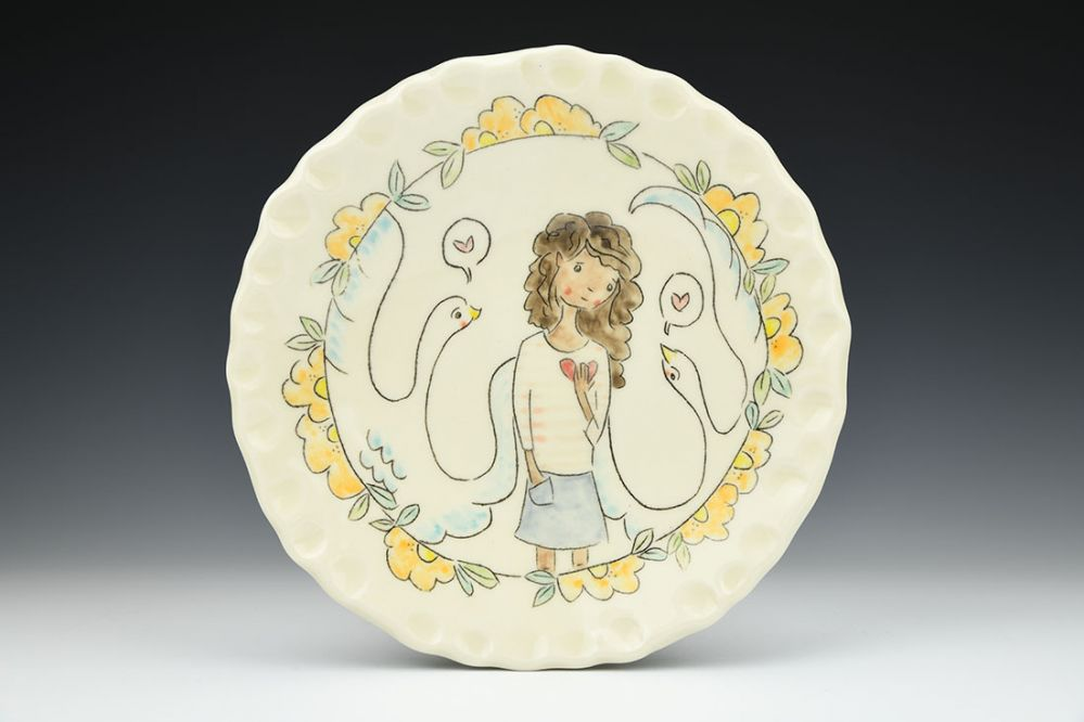 Finding Hope Serving Plate