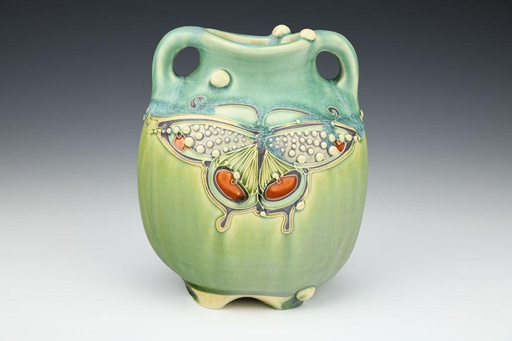 Butterfly Fern Mist Vase