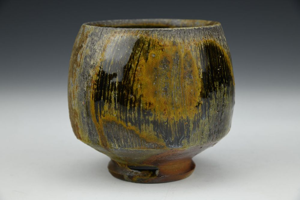 Yunomi with Brushed Decoration