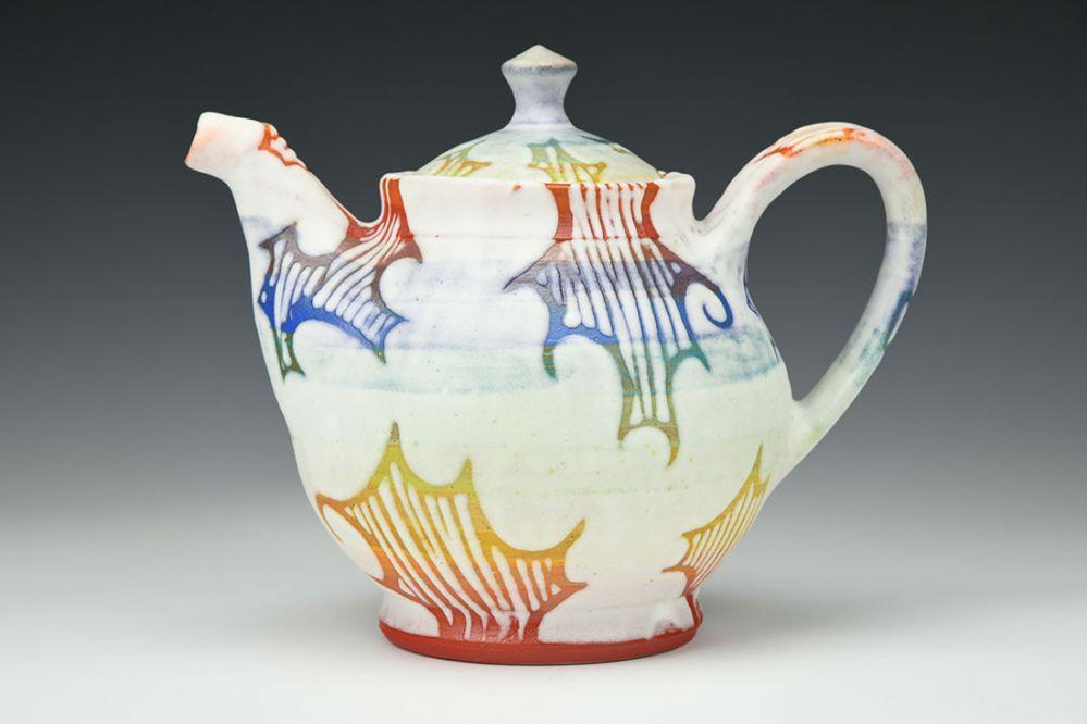 Rainbow Cloud Teapot