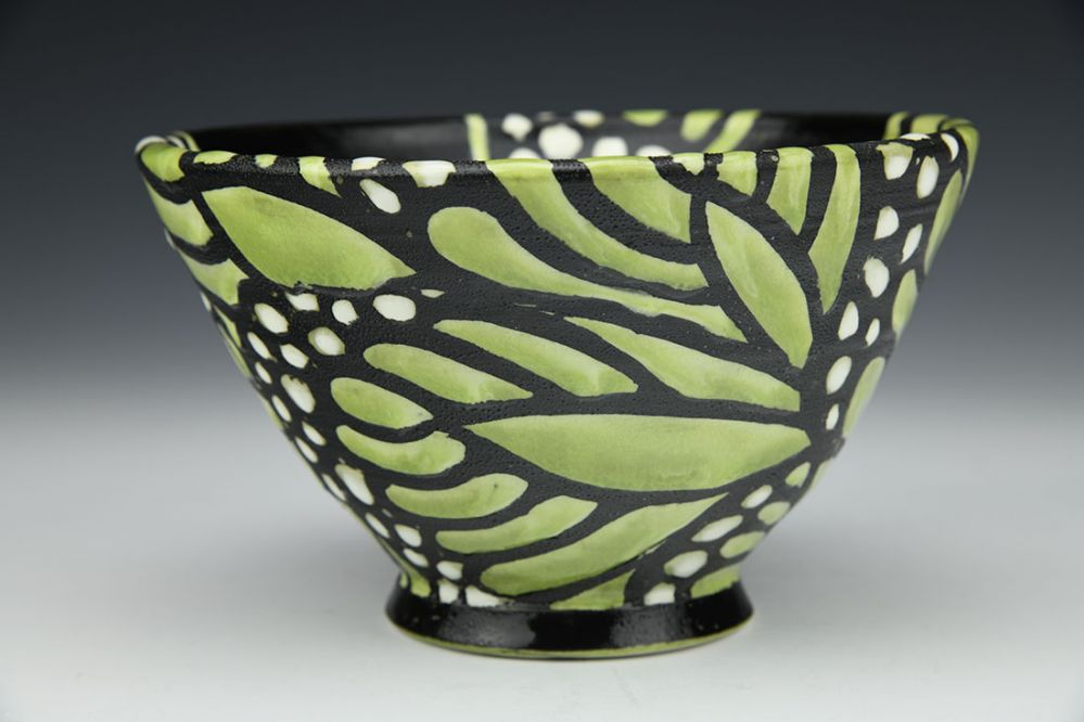 Green Monarch Cereal Bowl