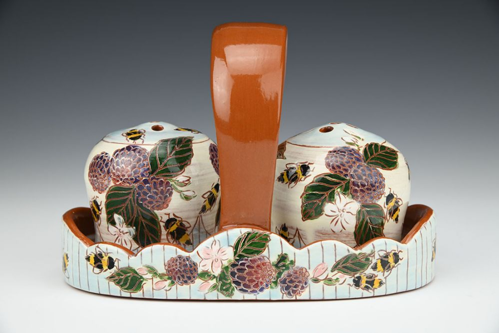 Bees, Berries, and Blossoms Shaker Set