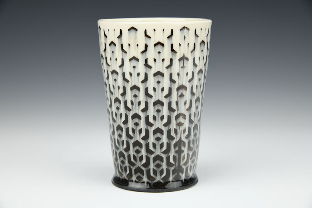 White Cubed Cup