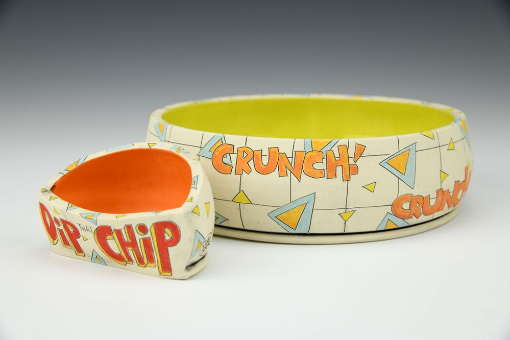 Personal Chip and Dip Set