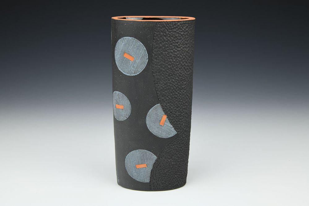 Blue Bubbles Vase