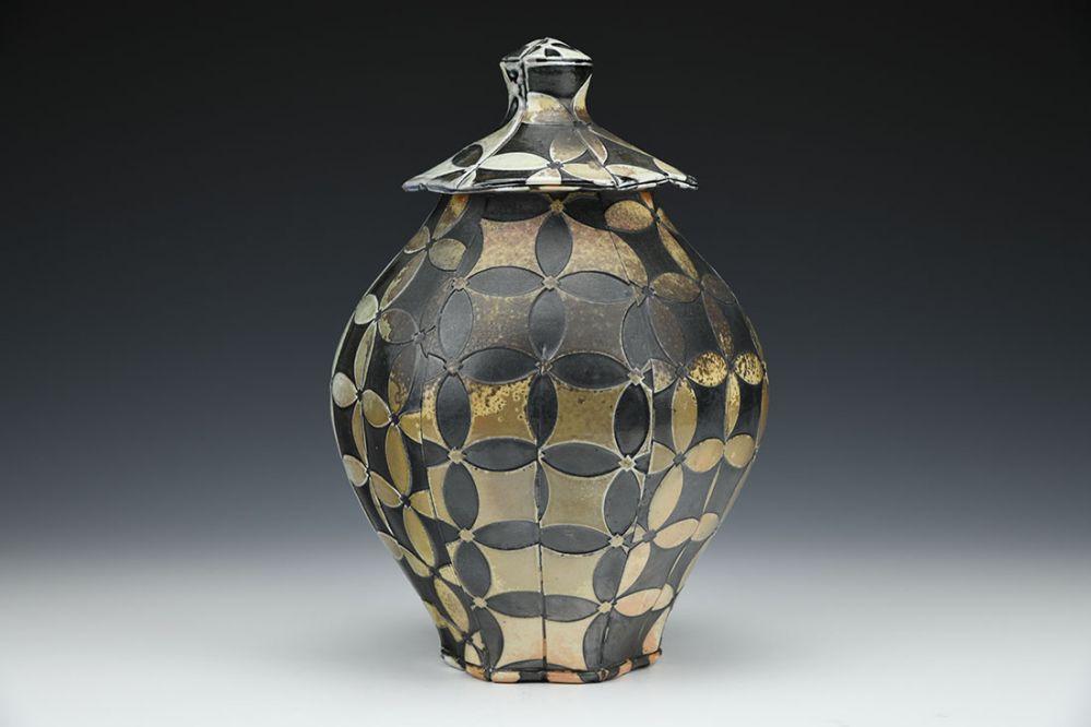 Seven Jewels Lidded Jar