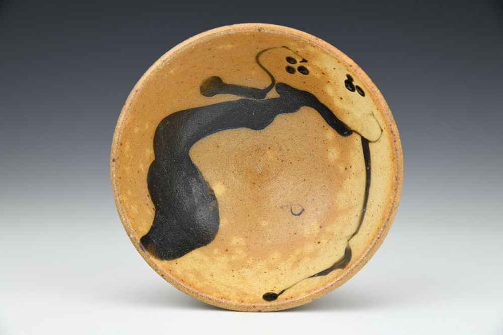 Bowl with Paw Paw Motif