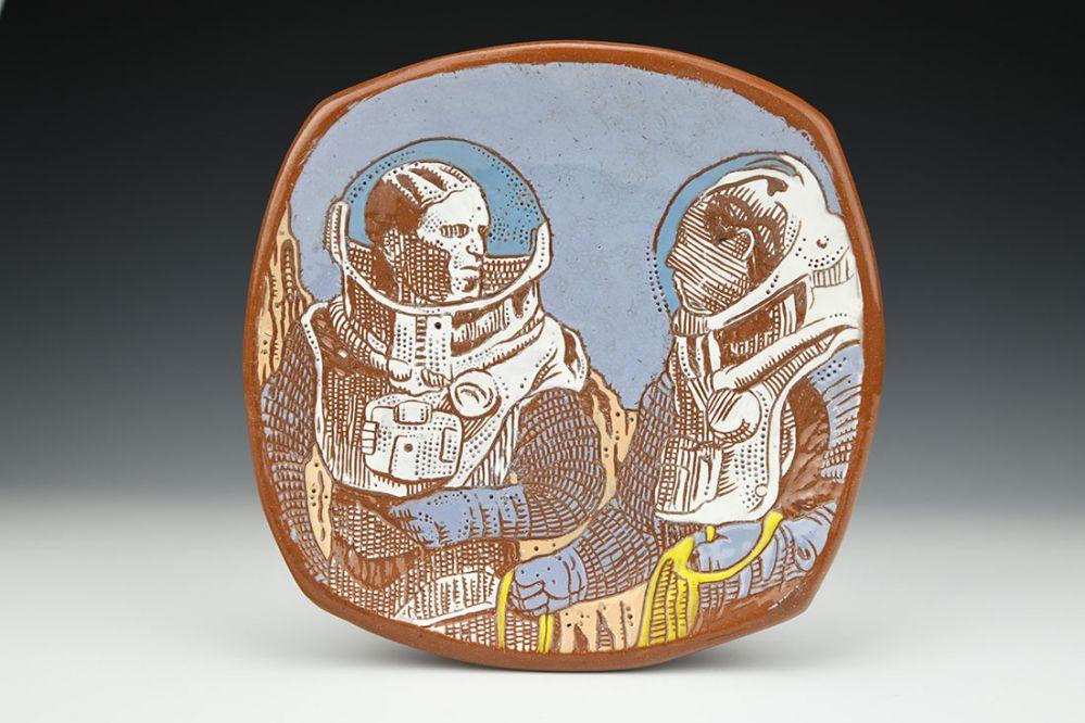 Standing Astronauts