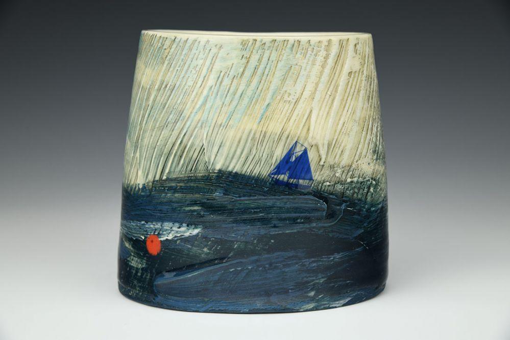 Through the Storm Vase