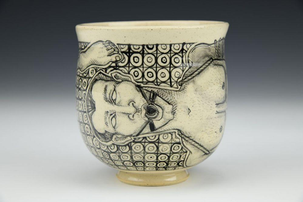 Ball Gagged Cup