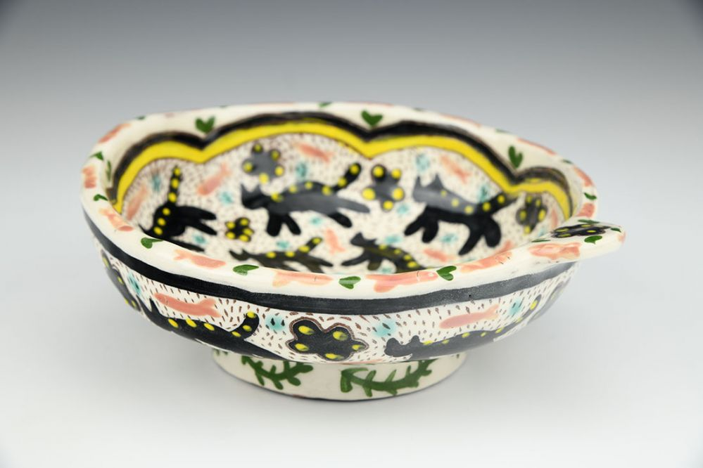 Cat Snack Bowl