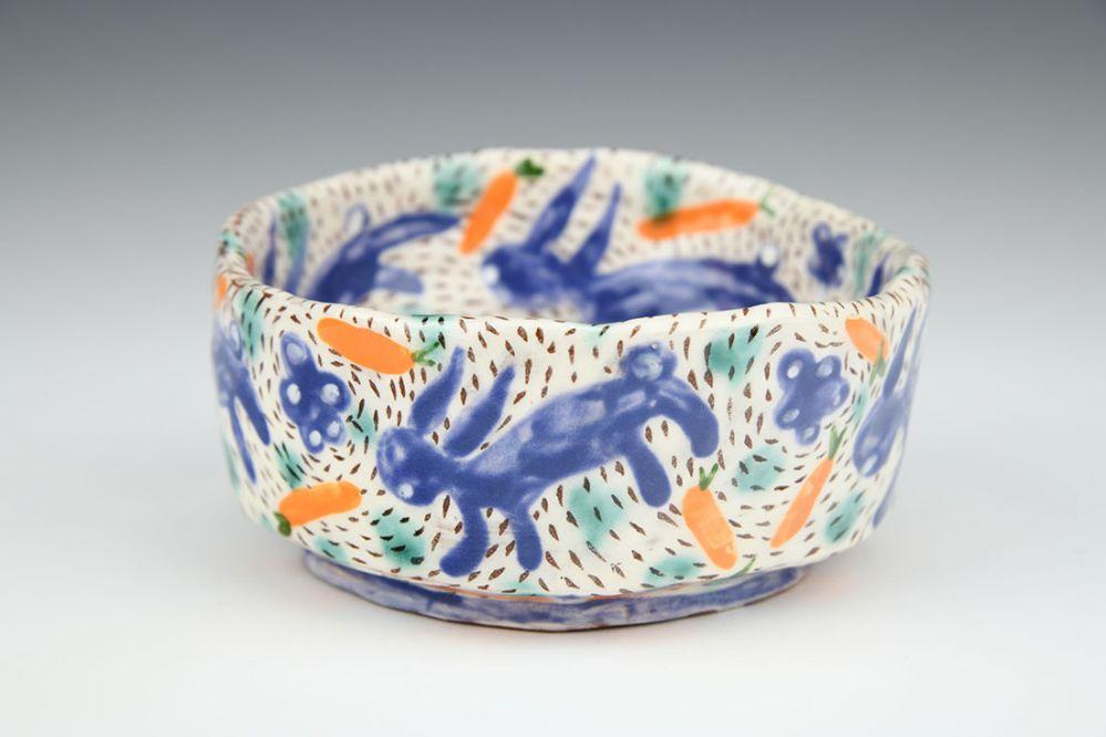 Kurinuki Bunny Bowl
