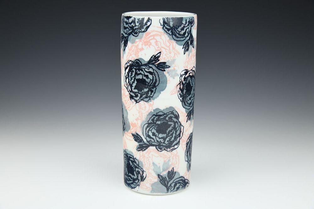 Garden Rose Vase
