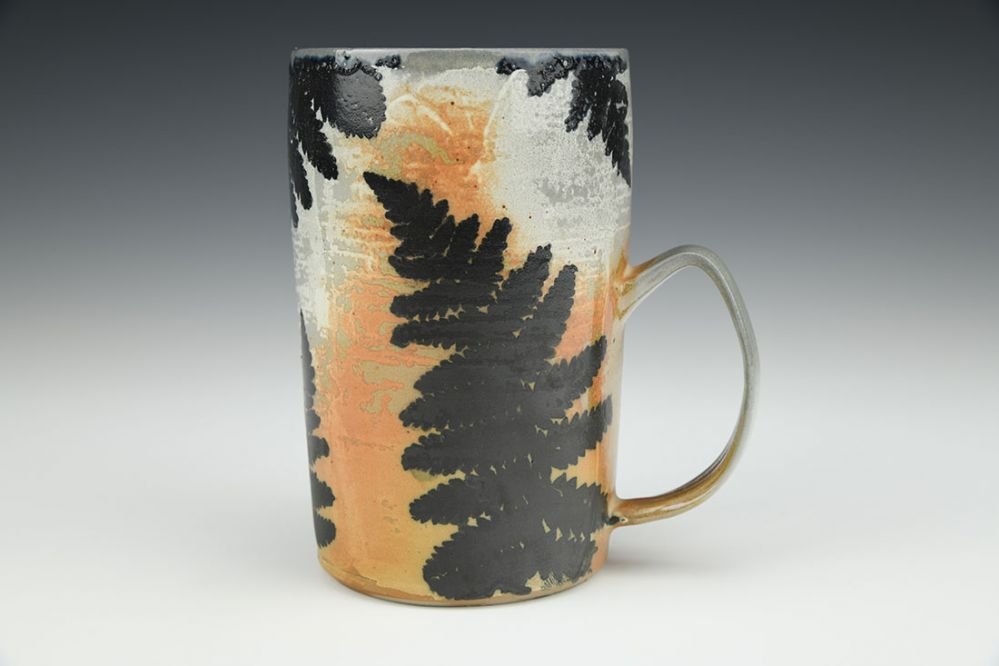 Fern Soda Fired Mug