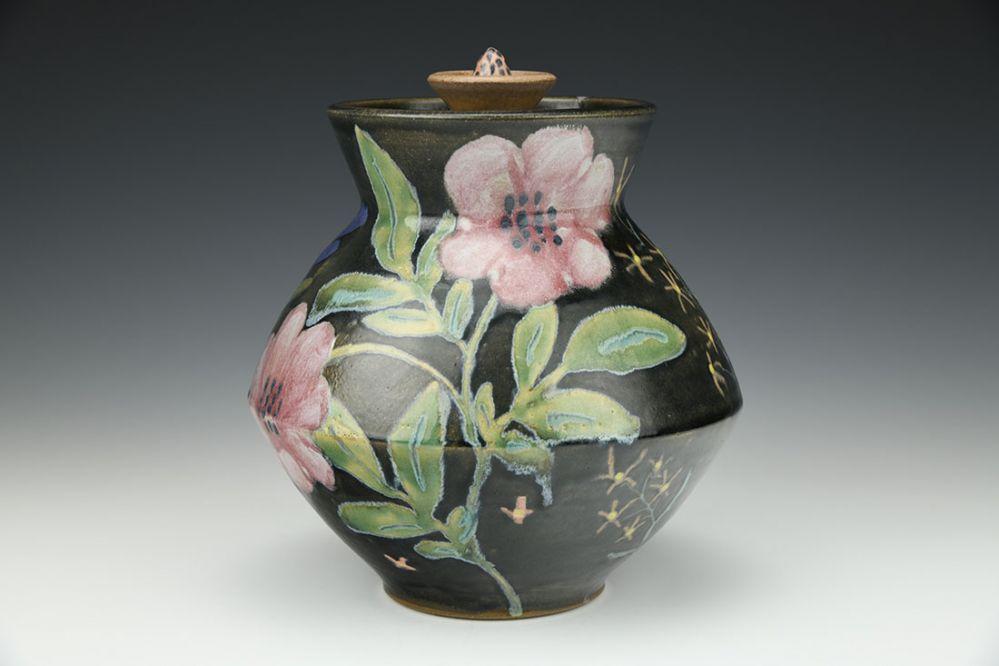 Summer Garden Jar