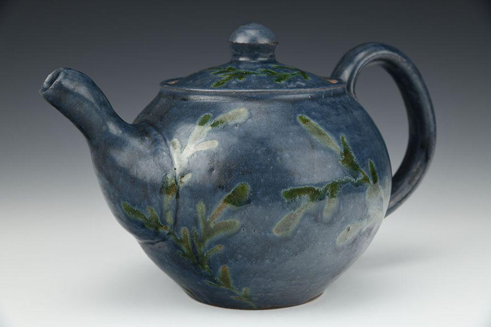 Green Leaf Teapot
