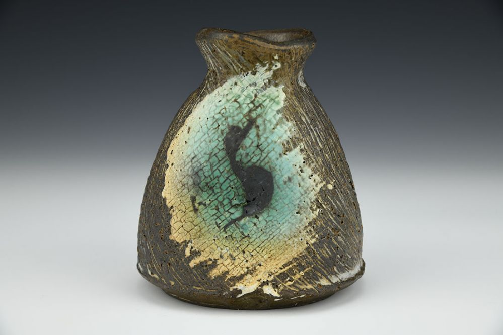 Small Vase with Brushwork