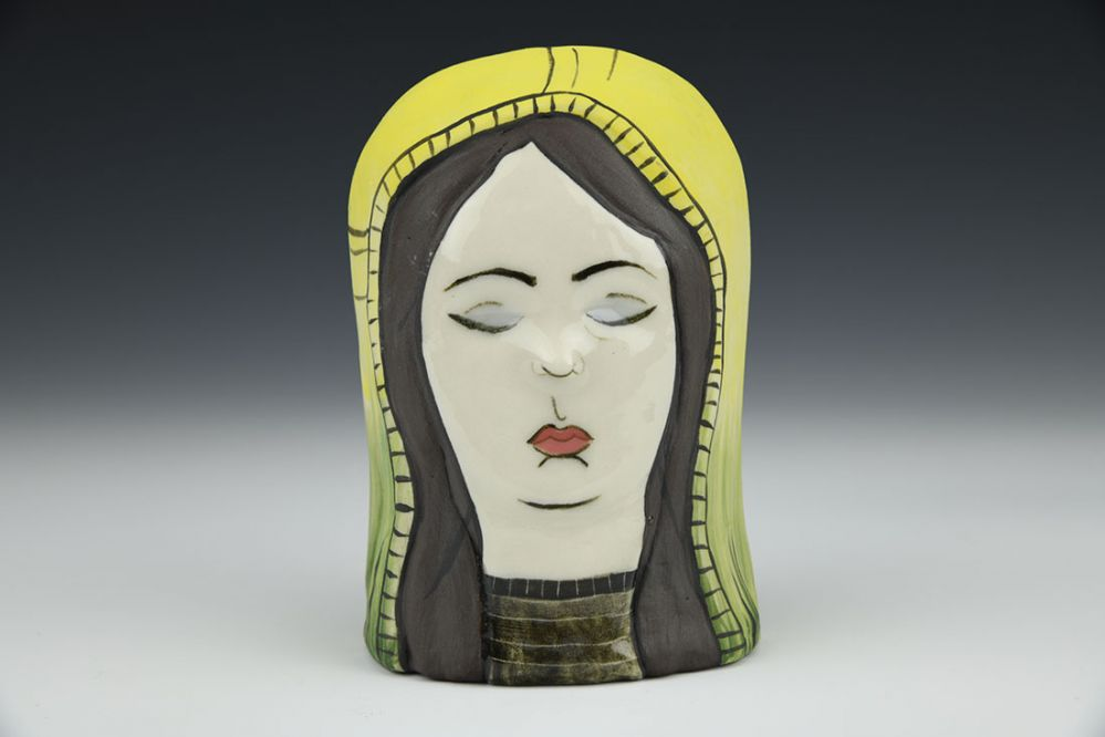Lady Head with Nature Shroud