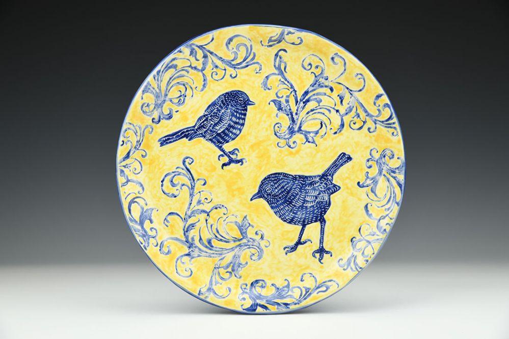 Two Peeps Plate