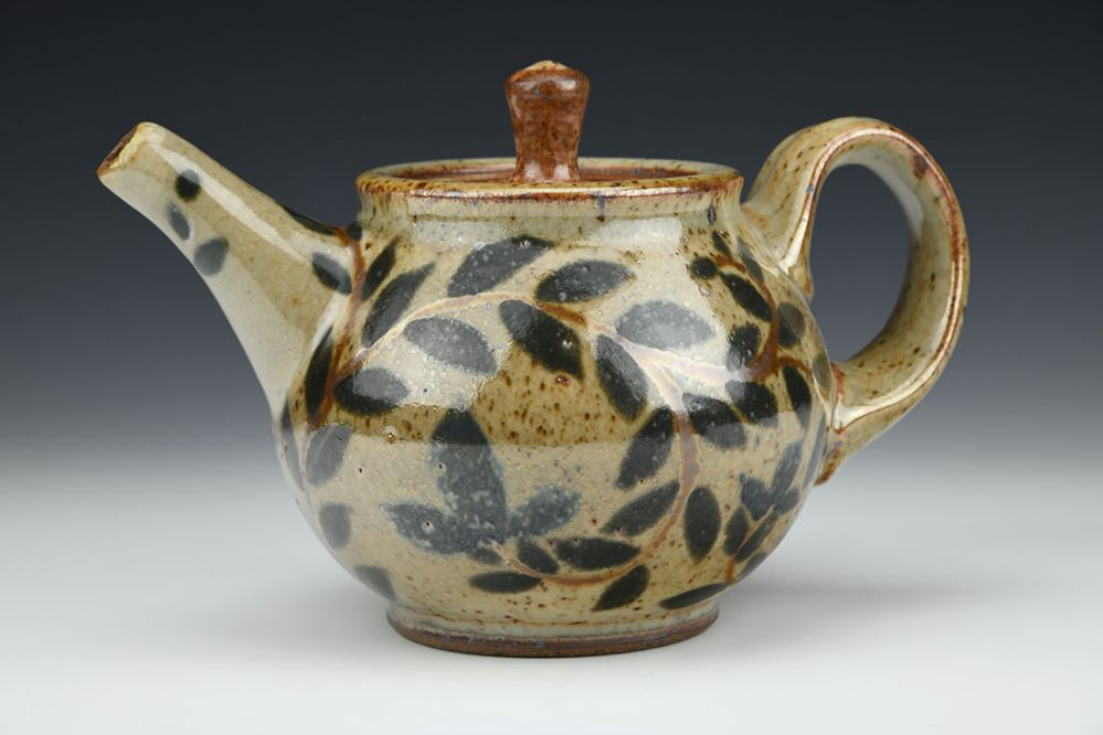 Vine and Flower Teapot